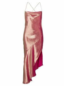 Haney Goldie Asymmetric Dress - Pink