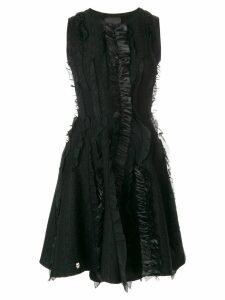 Philipp Plein Abito maglia Kiss Rouches dress - Black