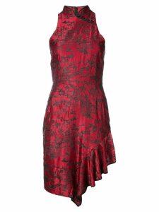 Josie Natori Cheongsam dress - Red