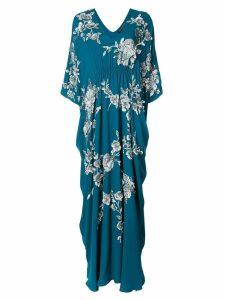 Josie Natori Cocoon caftan dress - Blue