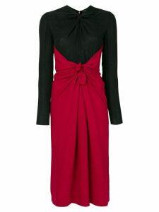 Proenza Schouler ruched detail dress - Black
