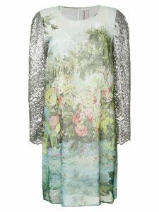 Antonio Marras floral print dress - Green