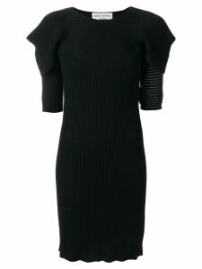Sonia Rykiel fitted knit dress - Black