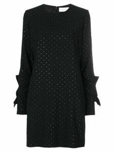 Victoria Victoria Beckham stud embellished shift dress - Black