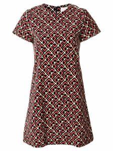 La Doublej Velvet Domino dress - Black