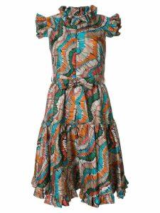 La Doublej Zip & Sassy Fiammiferi dress - Multicolour