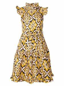La Doublej Zip & Sassy Palazzo dress - Yellow