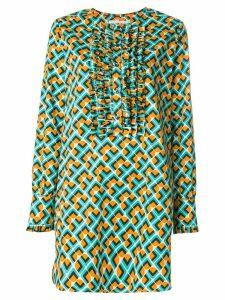 La Doublej Domino tuxedo dress - Multicolour