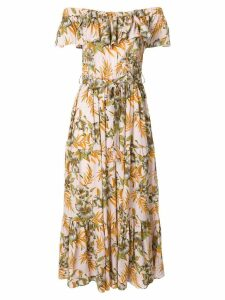 La Doublej Double Love Polinesia dress - Yellow