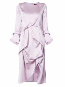 Sies Marjan Noemi long sleeve dress - Pink