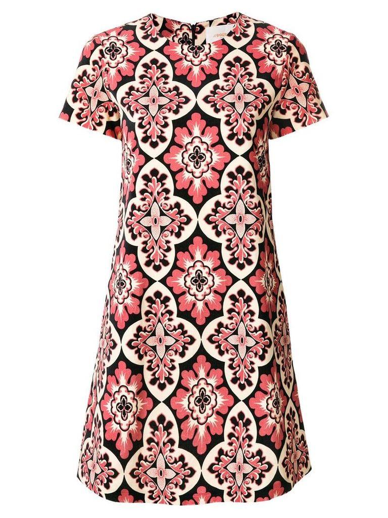 La Doublej Velvet Palazzo Rosa dress - Pink
