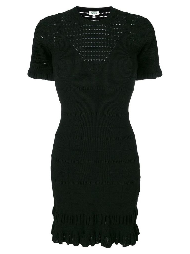 Kenzo knitted dress - Black