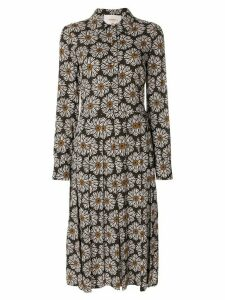 La Doublej Girasoli shirt dress - Brown