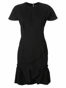 Isabel Marant pleated hem dress - Black