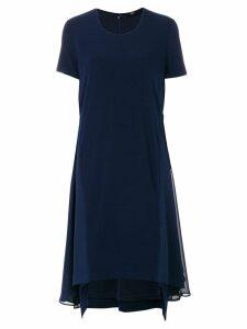 Steffen Schraut flared dress - Blue