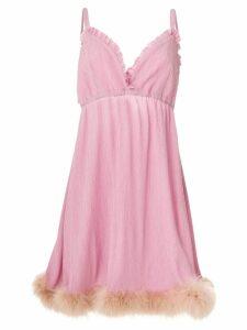 Daizy Shely crepe creponne dress - Pink
