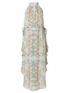 Pierre Balmain abstract print maxi dress - Multicolour