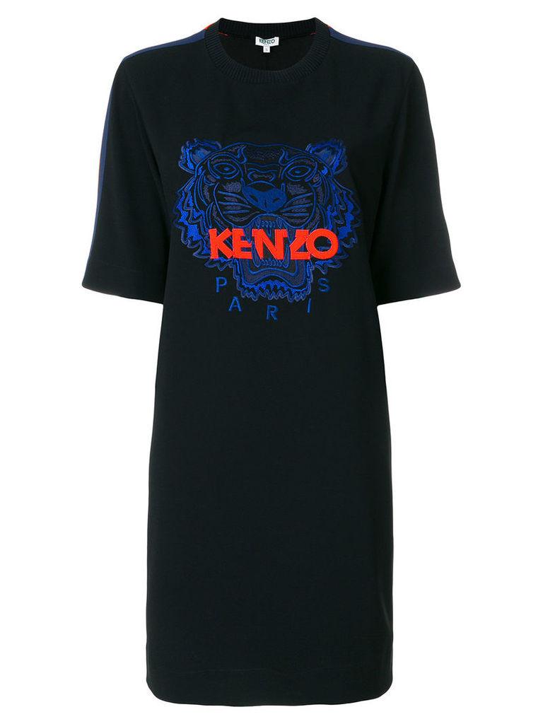 Kenzo Tiger sweat dress - Black