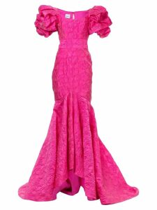 Bambah mermaid ruffled gown - Pink