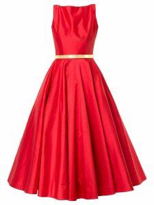 Romona Keveza flared midi dress