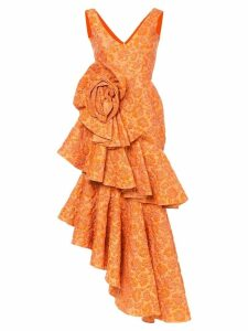 Bambah Zinnia spiral gown - Yellow