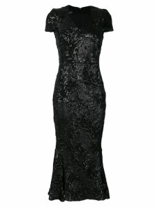Talbot Runhof Posto dress - Black