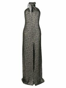 Lanvin crystal embellished dress - Black