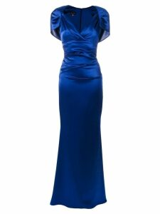 Talbot Runhof Polinesia1 dress - Blue