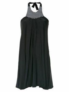 Amir Slama halterneck dress - Black