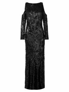 Talbot Runhof Poral1 dress - Black