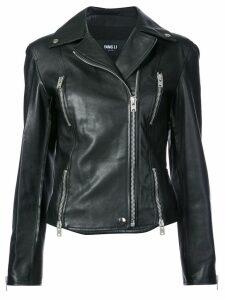 Yang Li biker jacket - Black