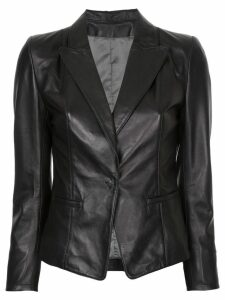 Sylvie Schimmel fitted blazer - Black