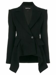 Tom Ford peplum blazer - Black
