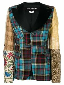 Junya Watanabe patchwork blazer - Multicolour