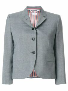 Thom Browne Classic Single Breasted Sport Coat In School Uniform Plain