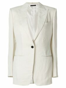 Tom Ford classic fitted blazer - White