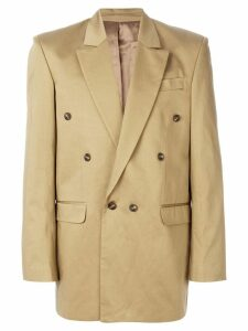 Martine Rose double-breasted blazer - Neutrals