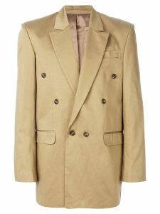 Martine Rose double-breasted blazer - Neutrals