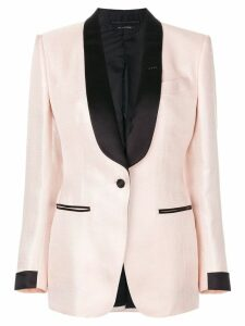 Tom Ford shawl lapels blazer - PINK