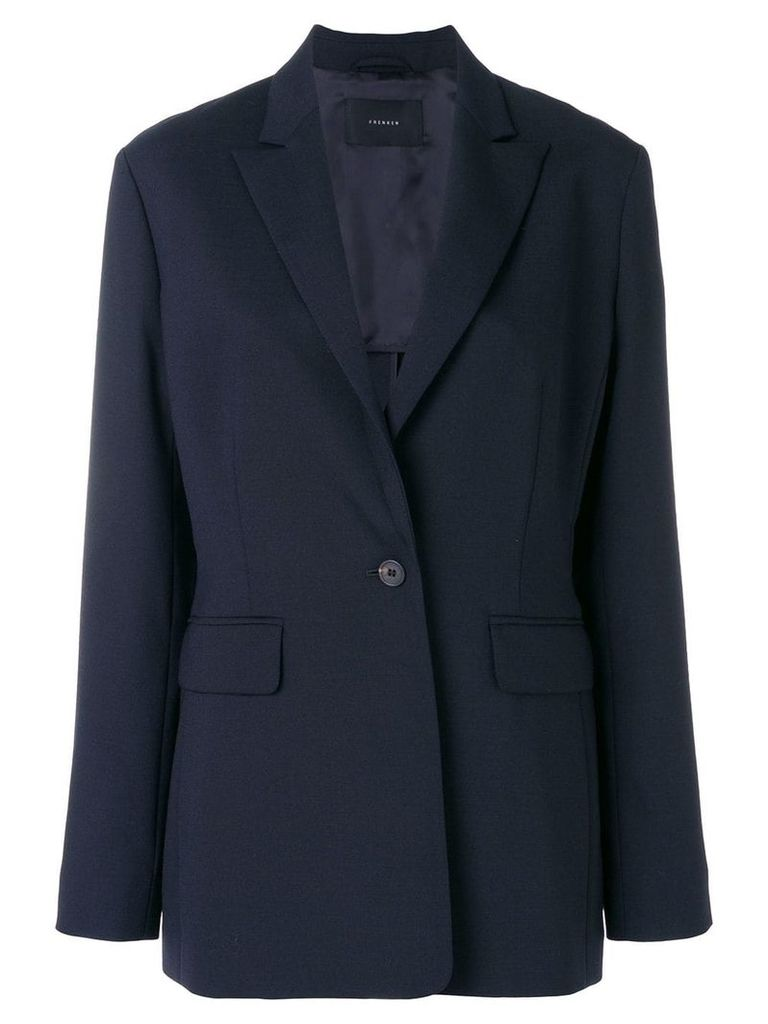 Frenken dotted blazer - Blue