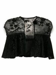 Liska embellished shrug - Black