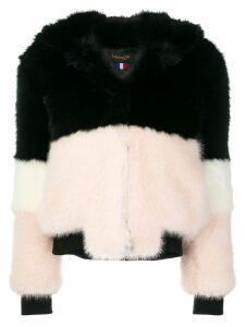 La Seine & Moi Emma faux fur coat - Black