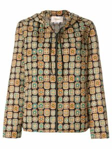La Doublej Piastrelle windy jacket - Brown
