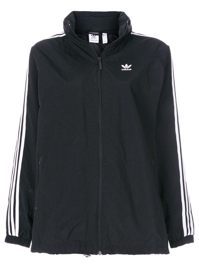 Adidas Adidas Originals 3-Striped windbreaker jacket - Black