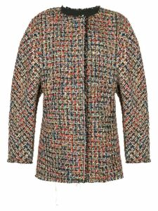 Bambah Theo tweed jacket - Black