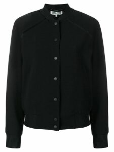 Kenzo Tiger back patch bomber jacket - Black