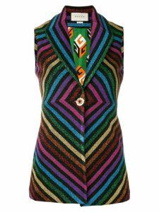 Gucci rainbow waistcoat - Multicolour