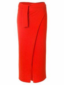 Cashmere In Love Sari wrap skirt - Yellow