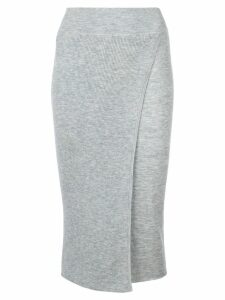 Cashmere In Love cashmere Capri knit skirt - Grey