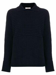 Dorothee Schumacher collared sweater - Blue